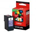 Lexmark cartucho tinta color 41 (18Y0141E) 210pag