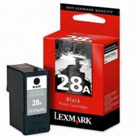 Lexmark cartucho tinta negro 28 18C1528E 175 pag