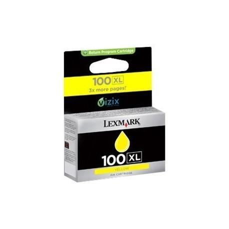 Lexmark cartucho tinta amarillo 100XL 14N1071E 6