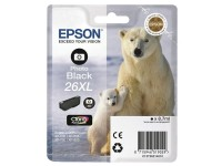 Epson cartu. de tinta negro pho.T26XL T2631 400p