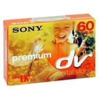 Sony cinta video digital mini DV premium SP60