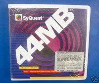 SyQuest disco óptico 44Mb
