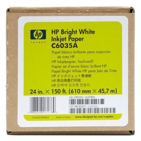 """HP papel C6035A 24""""(610mmx45,7m) 90gr"""