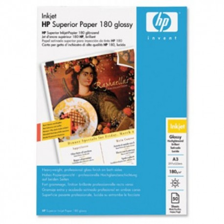 HP papel ink-jet C6821A A3 Glossy 2 caras 180gr.