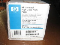 """HP papel Q1427A 36"""" (914nn)x30,5m 179gr. foto glos"""