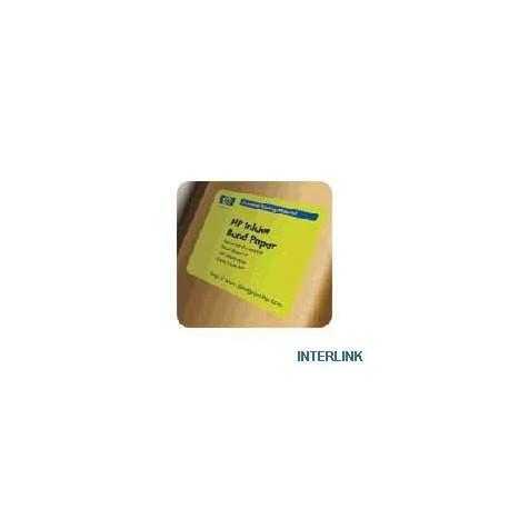 "HP papel ink-jet Q1396A 24"" A1 (610mm x 45,7m)80gr"