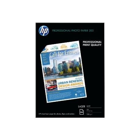 HP papel laser Q6550A A4 100H 200 gr.