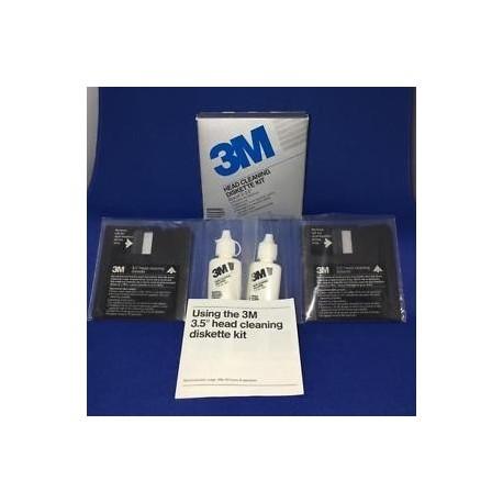 """3M limpieza diskette 3,5"""" 2 unidades"""