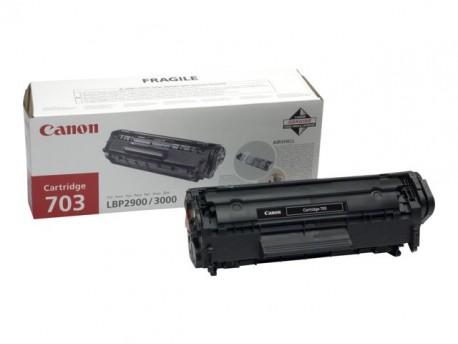 Canon toner negro CART 703 7616A005 2.000 páginas