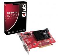 Club-3D tarjeta gráfica AGP HD3450 512MB GDDR2
