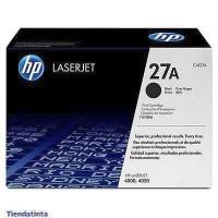 HP toner negro 27A C4127A 6000 páginas