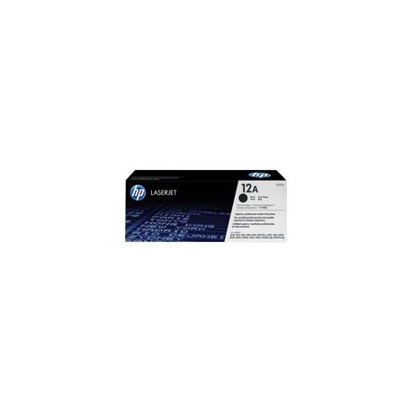 HP toner negro 12A Q2612A LJ-1010-12-15 2000 pági