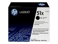 HP toner negro Q7551X alta capacidad 13.000 página