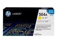 HP toner amarillo 504A E252A 7000 páginas Lase