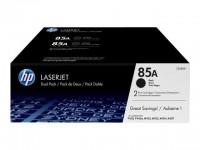 HP toner negro 85A CE285AD pack doble 1600 págin