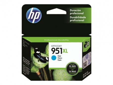 HP cartucho de tinta cyan 951XL CN046AE 1500 págin