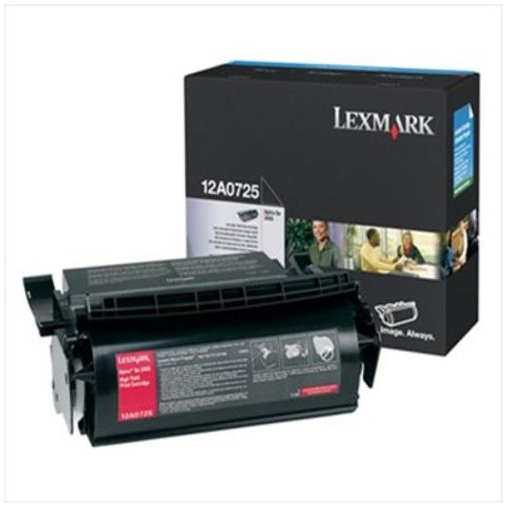Lexmark tóner negro 12A0725 23.000 páginas