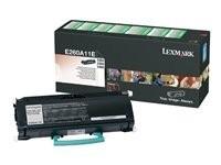 Lexmark tóner negro E260A11E 3.500 páginas