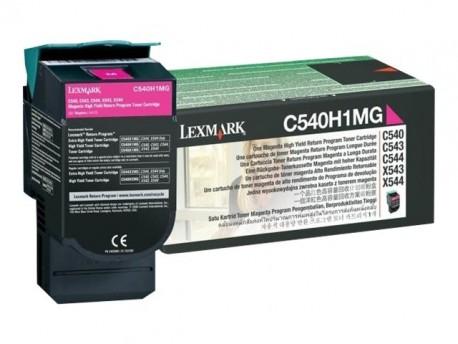 Lexmark toner magenta C540H1MG 2.000 páginas