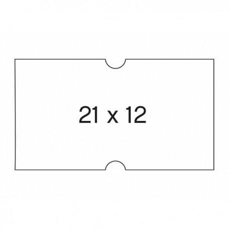 Apli etiquetas 100911 21X12 perforadas en rollo