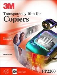 3M Transparencias PP2200 A4 fotocopiadora 100h