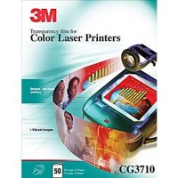 3M Transparencias CG3710 láser color A4 50h