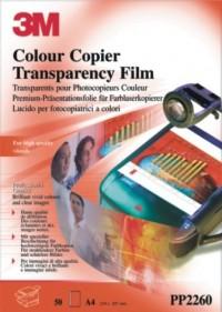 3M Transparencias PP2260 láser color A4 50h