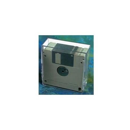 """Caja diskette 3,5"""" para archivo 10 unidades - plás"""