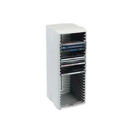 Deja archivador CD/DVD 62 unidades Trio 62 torre