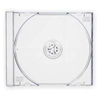 Deja caja CD/DVD 1u caja normal plástico trans