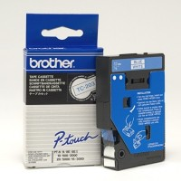 Brother cinta rotula. TC203 azul/blanco 12mm x 7m