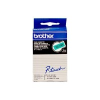 Brother cinta rotuladora TC791 negro/verde 9mm x7m
