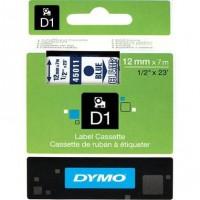 Dymo cinta rotuladora 45011 azul/trans. 12mm x7m