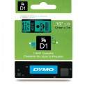 Dymo cinta rotuladora 45019 negro/verde 12mm x 7m