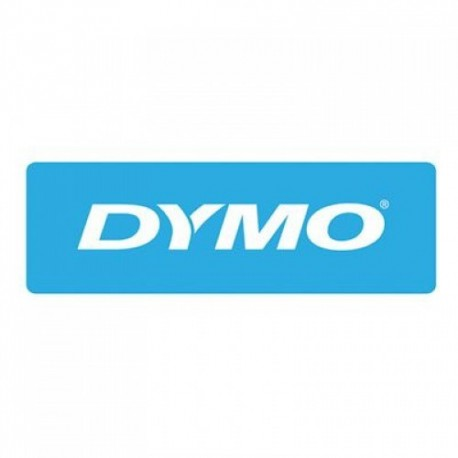 Dymo cinta rotuladora 30132 rojo/trans 12mm x 7,7m