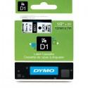 Dymo cinta rotuladora 45013 negro/blanco 12mm x 7m