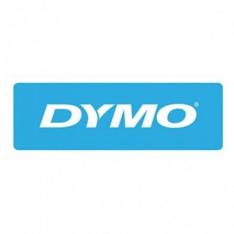 Dymo cinta rotuladora 61912 negro/rojo 19mm x 50m