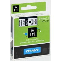 Dymo cinta rotuladora 40913 negro/blanco 9mm x7m