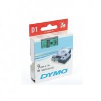 Dymo cinta rotuladora 40919 negro/verde 9mm x 7m