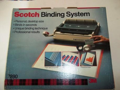 3M encuadernadora Scotch 7890 con cinta adhesiva