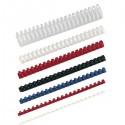 Canutillos 10mm plástico blanco caja 100 unidades