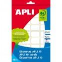 Apli etiquetas 01661 en paquete 10H 81 X 110