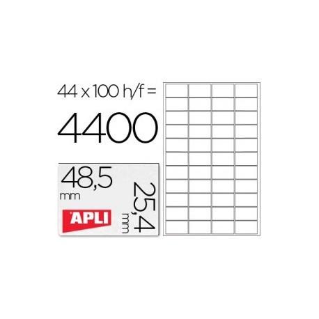 Apli etiquetas 01285 I/L/F/48,5X25,4 100H
