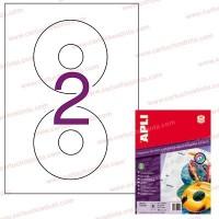 Apli etiquetas 02928 CD-R glossy 10H