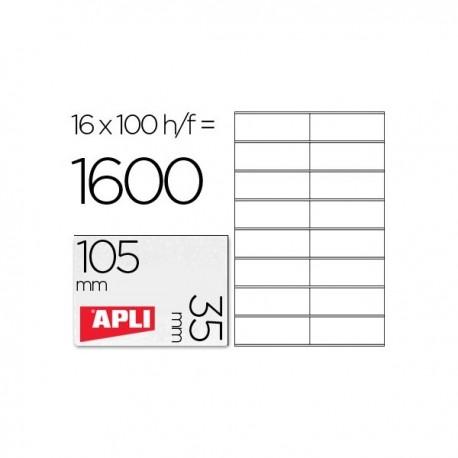Apli etiquetas 01287 I/L/F/105X35 100H