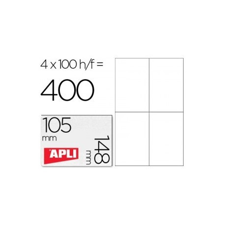 Apli etiquetas 01280 I/L/F 105X148 100h