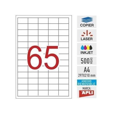 Apli etiquetas 03052 I/L/F/ removible 38X21,2