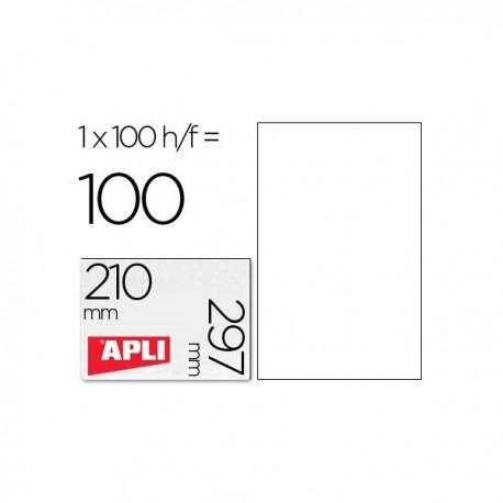 Apli etiquetas 01281 I/L/F 210X297 100H