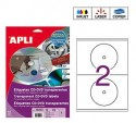 Apli etiquetas 10213 CD/DVD 117mm