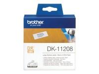 Brother etiquetas DK11208 38mmX90mm (400unidades)